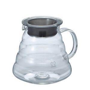 Glaskanne für Kaffee oder Tee 600 ml
