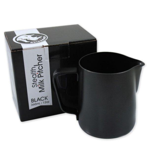 Milchkännchen 360ml in schwarz
