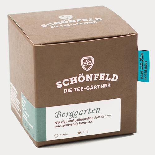Schönfeld Tee Berggarten - Salbei Box