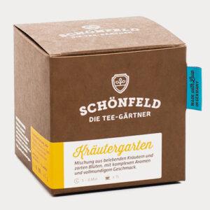 Schönfeld Tee Kräutergarten Box