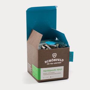 Schönfeld Tee Marokkanische Minze Box