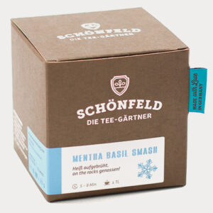 Schönfeld Tee Mentha Basil Smash Box