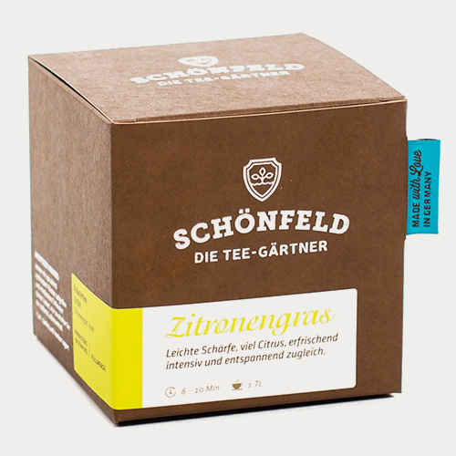 Schönfeld Tee Zitronengras Box