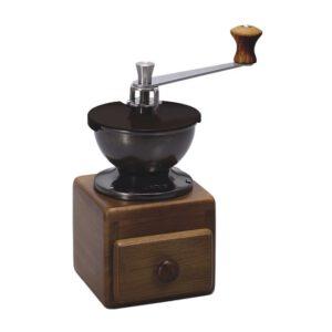 kleine Handmühle aus Holz
