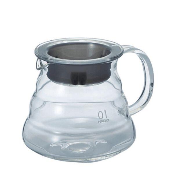 Glaskanne für Kaffee oder Tee 360 ml