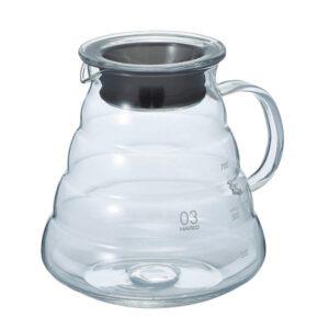 Glaskanne für Kaffee oder Tee 800 ml