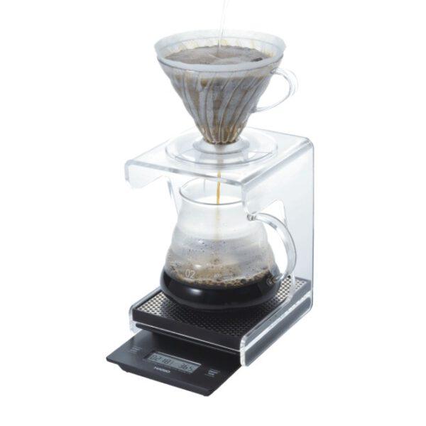 Kaffeebrühstation Acrylglas