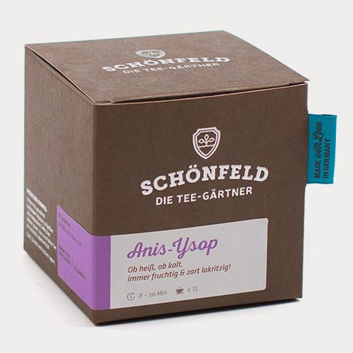 Schönfeld Tee Anis Ysop 40g Box