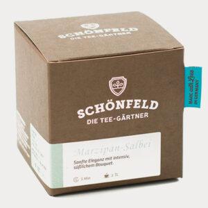 Schönfeld Tee Salbei Marzipan Box
