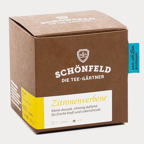 Schönfeld Tee Zitronenverbene Box