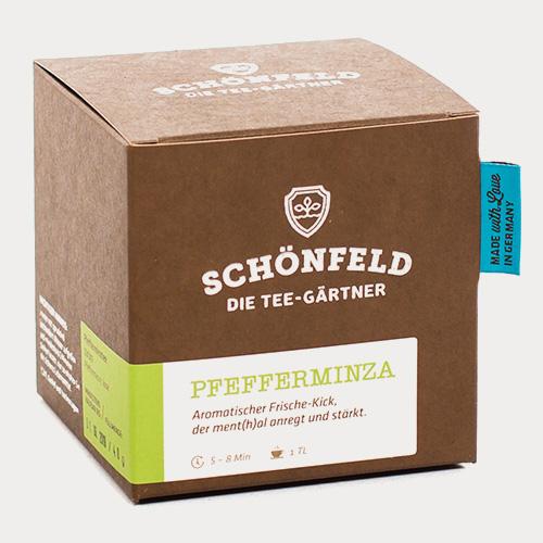 Schönfeld Tee Pfefferminza Box